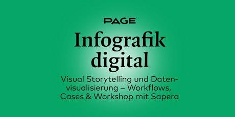 PAGE Webinar & Workshop »Infografik digital« Tickets