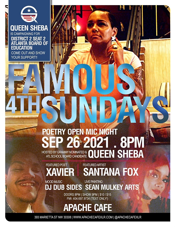 Word Is Born Presents: Famous 4th Sundays image