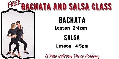 Free Bachata and Salsa Class tickets