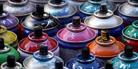 Taller de pintura con spray en Fuendetodos entradas