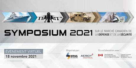 Symposium sur le marché canadien de la défense et de la sécurité 2021 billets