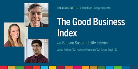 Good Business Friday: The Good Business Index tickets