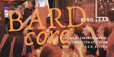 Match: Lit presents BARDcore Reading Series - King Lear tickets