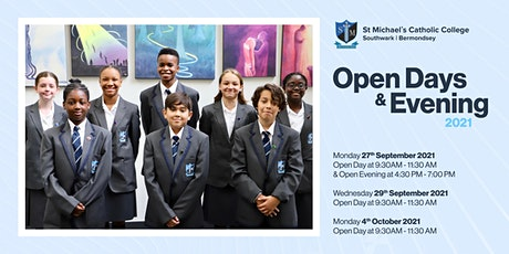 St Michael's Catholic College  Open Day 2021 tickets