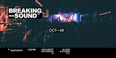 Breaking Sound LA feat. Calica, Landon Conrath tickets