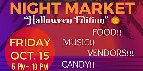 """TGIF Night Market """"Halloween Edition"""" tickets"""