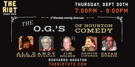 The Riot Comedy Show presents  The O.G.'s of Houston Comedy Showcase tickets