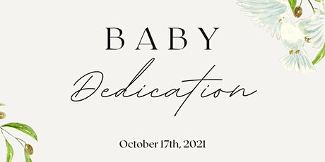 Baby/Child Dedication tickets