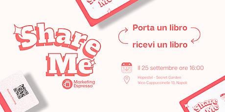 Share ME Books - Napoli biglietti