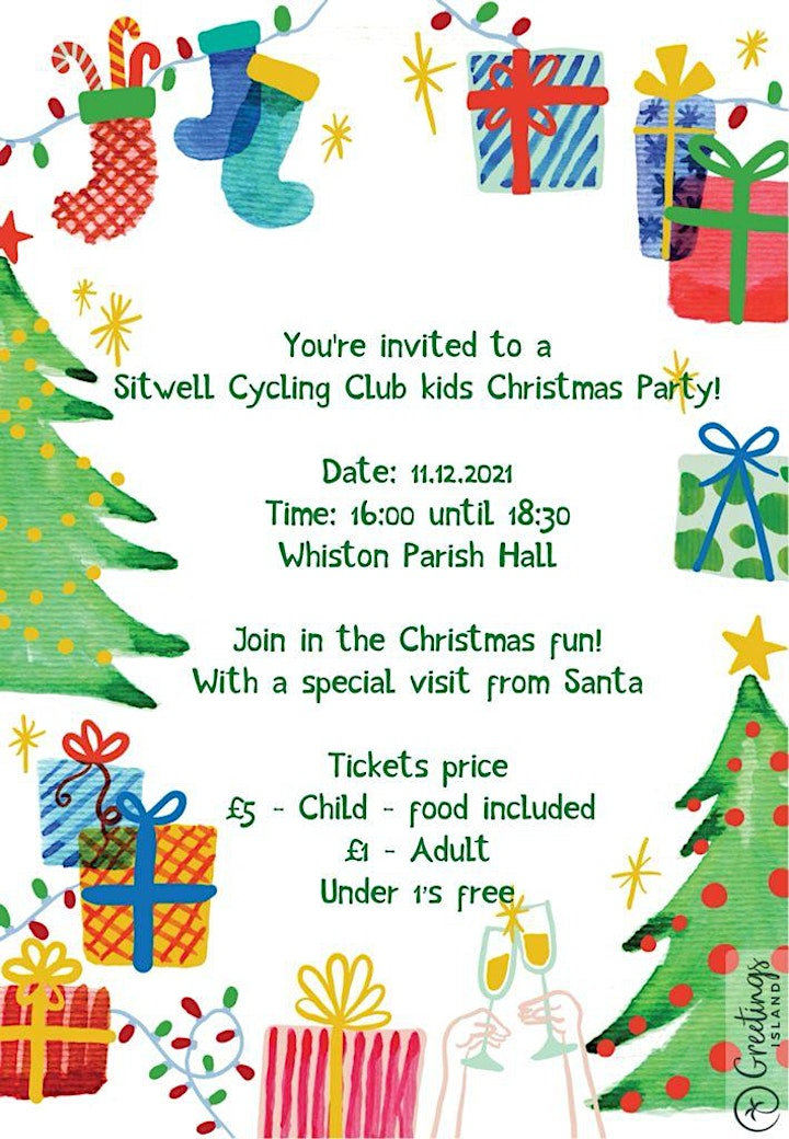 Sitwell Cycling Club Kids Christmas Party. image