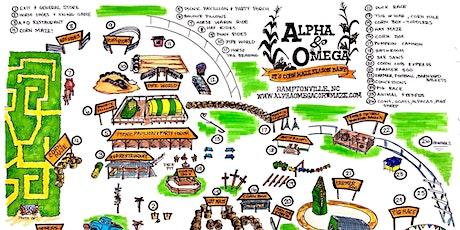Alpha & Omega Corn Maze  General Admissions tickets