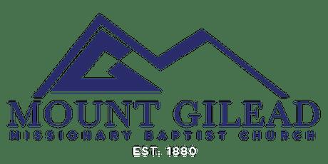 Mount Gilead Sunday Worship   September 19, 2021 tickets
