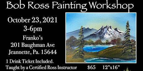 Bob Ross Workshop - Autumn Mountain tickets