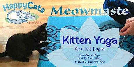 Kitten Yoga October tickets