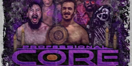 Core Pro Wrestling tickets