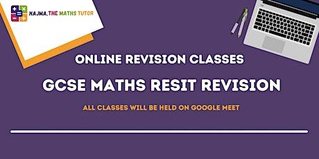 GCSE Resit Revision Class tickets