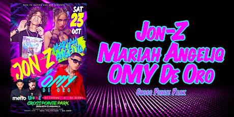 JON-Z - MARIAH ANGELIQ - OMY DE ORO tickets