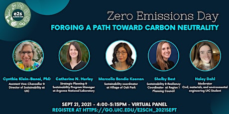 Zero Emissions Day Virtual Panel – Forging a Path toward Carbon Neutrality tickets