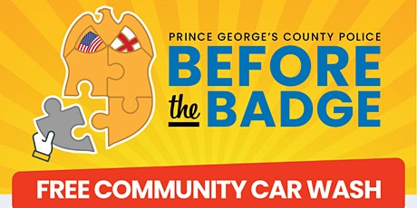 Before The Badge: Community Car Wash tickets