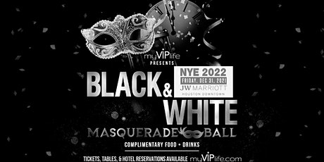 Black & White Masquerade Ball | New Year's Eve 2022 (Houston, TX) tickets