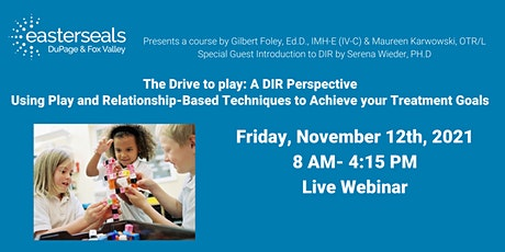 The Drive to Play: A DIR Perspective tickets
