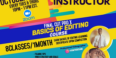 Final Cut Pro X Basic Editing Course tickets