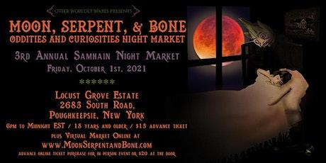 3rd Annual Samhain Oddities and Curiosities Night Market tickets