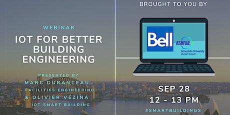 Webinar: IoT for Better Building Engineering tickets