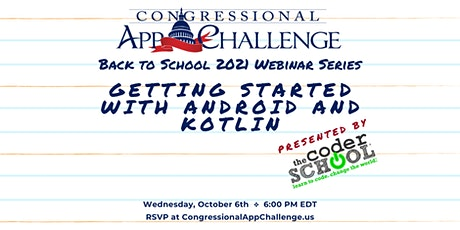Congressional App Challenge: Getting Started with Android and Kotlin tickets