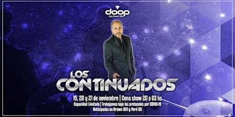 Cena show en vivo con la presentación de Matias Sotelo entradas