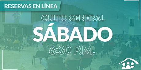 Culto Presencial  Sábado/25 Set / 6.30 pm entradas