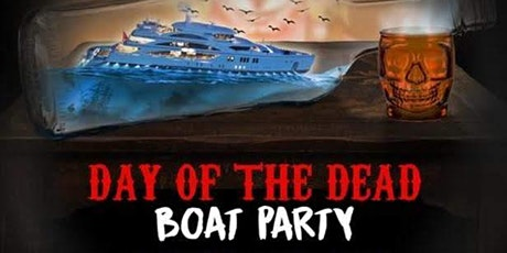 HALLOWEEN Dia De Los Muertos LATIN BOAT PARTY  YACHT CRUISE  NE W YORK CITY tickets
