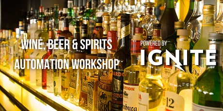 Atlantic Food Automation Series - Wine, Beer & Spirits Workshop tickets