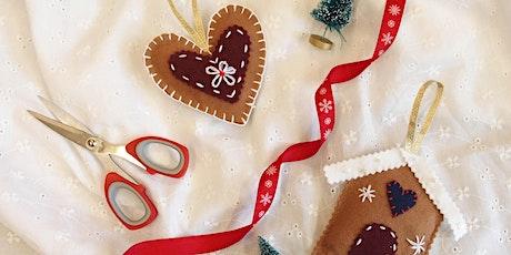 Handmade Christmas Decorations tickets