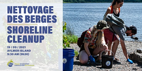 Shoreline cleanup at Aylmer Island // Nettoyage sur l'île Aylmer tickets