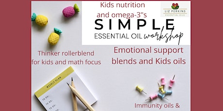 Simple Essential Oil Back to School Workshop tickets
