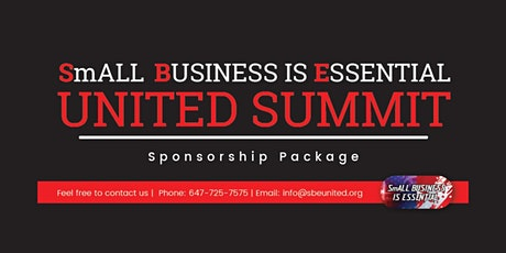 Small Business Is Essential United Summit tickets