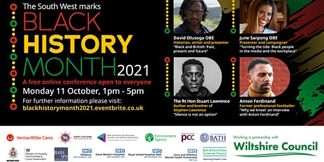 South West Black History Month Conference 2021 tickets