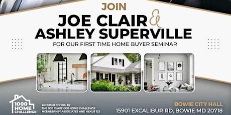 1000 Home Challenge - First Time Homebuyer Seminar tickets