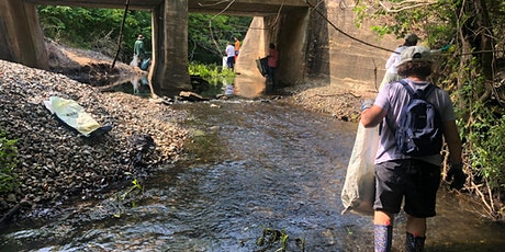 Moncrief Creek  Clean-up with WHF Community Council tickets