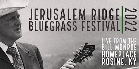 Jerusalem Ridge  Bluegrass Celebration 2022 tickets
