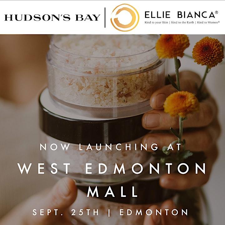 Ellie Bianca Grand Launch at Hudson's bay West Edmonton Mall, Edmonton image