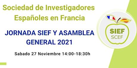 Jornada SIEF-SCEF y Asamblea General 2021 billets