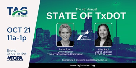 State of TxDOT 2021 tickets