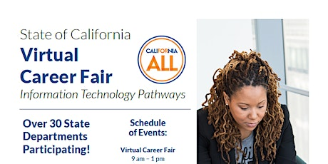 State of California Information Technology Virtual Career Fair tickets