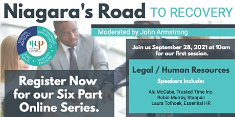 Niagara's Road to Recovery - Legal / HR Session tickets