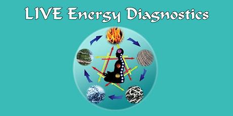 LIVE Energy Diagnostics tickets