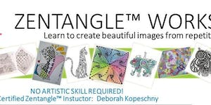 Learn to Zentangle - Create your own Coloring Sheets