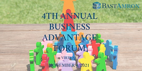 Register Now! 4th Annual Business Advantage Forum tickets