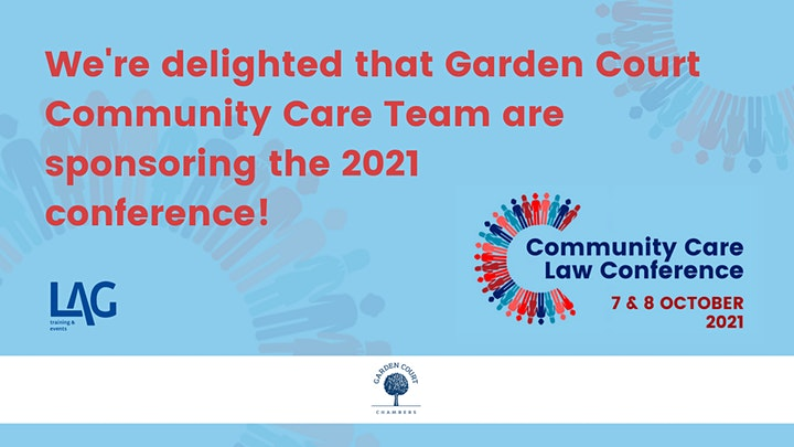 Legal Action Group  Community Care Law Conference image
